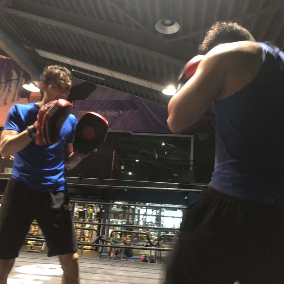 ART Boxing coach